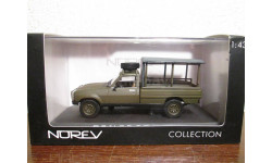 Peugeot-504 Pick-up 4x4 1979 Army, масштабная модель, NOREV, scale43