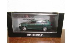toyota avensis break 2002 green metallic minichamps, масштабная модель, scale43