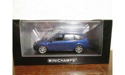 ford focus turnier 2005 bluemetallic, масштабная модель, minichamps, 1:43, 1/43