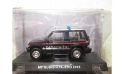 mitsubishi pajero 2003 1/43 deagostini, масштабная модель, scale43