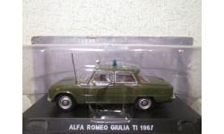 alfa romeo giulia ti 1967 1/43 deagostini, масштабная модель, 1:43