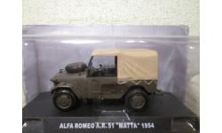 alfa romeo a.r. 51 matta 1954 1/43 deagostini, масштабная модель, scale43