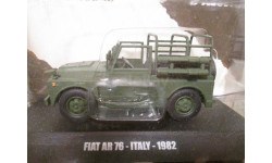 Fiat AR 76 Italy 1982 DeA 1/43, масштабная модель, deagostini, 1:43