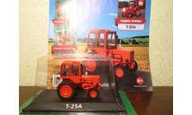 Тракторы: история, люди, машины №10 - Т25А 'Владимирец', масштабная модель трактора, HACHETTE, scale43