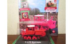 Тракторы: история, люди, машины №24 - ДТ-175 'Волгарь', масштабная модель трактора, HACHETTE, 1:43, 1/43