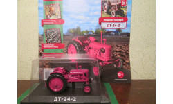 Тракторы: история, люди, машины №31 - ДТ-24.2, масштабная модель трактора, HACHETTE, scale43