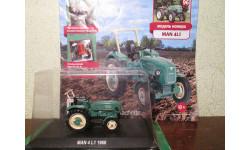 Тракторы: история, люди, машины №96 - MAN 4L1, масштабная модель трактора, HACHETTE, 1:43, 1/43