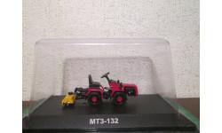 Тракторы: история, люди, машины №94 - МТЗ-132 (Беларус 132), масштабная модель трактора, HACHETTE, 1:43, 1/43