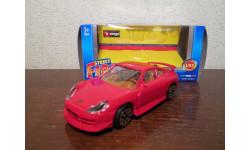PORSCHE 911 CARRERA, масштабная модель, BBURAGO, scale43