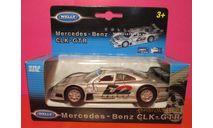 MERCEDES BENZ CLK-GTR, масштабная модель, WELLY, scale43, Mercedes-Benz