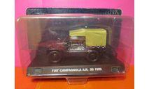 Полицейские Машины Мира СПЕЦВЫПУСК №1 - Fiat Campagnola П, масштабная модель, деагостини, scale43