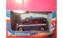 renault trafic minibus 1/43 cararama junior rescue gendarmerie, масштабная модель, scale43