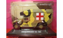 humvee ambulance-u.s.- 1991 deagostini 1/43