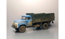 ЗИЛ-130 перевозка картофеля, масштабная модель, Start Scale Models (SSM), scale43