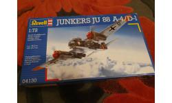 Junkers 88 A4/D1, сборные модели авиации, Revell (модели), scale72