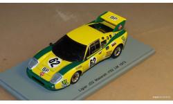 SPARK Ligier JS2 Maserati Le Mans 1973, масштабная модель, 1:43, 1/43