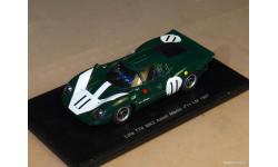 SPARK Lola T70 MK2 Aston Martin  Le Mans 1967, масштабная модель, 1:43, 1/43