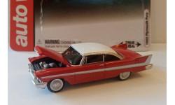AUTO WORLD 1:64 - PLYMOUTH FURY 1958