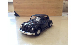 VW beetle cabriolet black