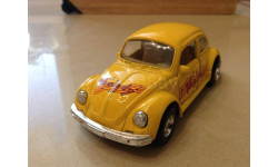 "VW 1303 Beatle ""Melody"" Yellow Welly"