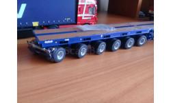 Полуприцеп nooteboom ballast trailer, масштабная модель, WSI, 1:50, 1/50