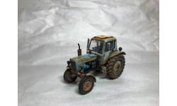 Мтз-80, масштабная модель трактора, Hachette, 1:43, 1/43
