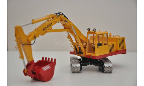 Экскаватор ЭО-4121, масштабная модель, Kempal models, 1:43, 1/43