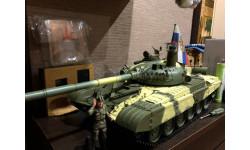 Танк, масштабная модель, DeAgostini (военная серия), scale16, Т72