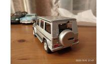 Mercedes g500 cararama 1/43, масштабная модель, Bauer/Cararama/Hongwell, scale43, Mercedes-Benz