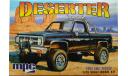 Deserter 1984 GMC pickup 1/25 scale model kit, сборная модель автомобиля, GMC Pickup 1984, MPC, 1:24, 1/24