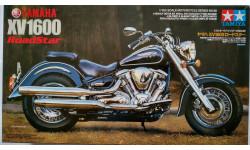 TAMIYA 1/12 Yamaha XV1600 Roadstar, сборная модель мотоцикла, 1:12