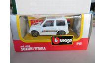 Suzuki Vitara  Bburago, масштабная модель, 1:43, 1/43