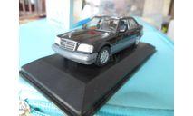 Mercedes w124 E-Class Saloon 1993 Minichamps, масштабная модель, Mercedes-Benz, scale43
