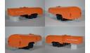 КрАЗ-258Б1 с полуприцепом-цистерной ТЗ-22 (хаки-оранжевый), масштабная модель, 1:43, 1/43, Автоистория (АИСТ)