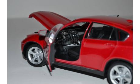 BMW X6, масштабная модель, 1:24, 1/24, Welly