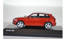 Audi Q5 2013 красный, масштабная модель, Schuco, scale43