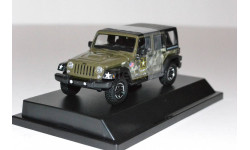 JEEP Wrangler 4x4 Unlimited U.S.Army Edition 5-дв. (Hard Top) 2014 Dark Green, масштабная модель, 1:43, 1/43, Greenlight Collectibles