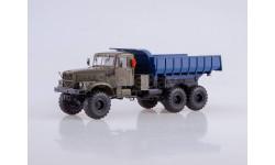 КРАЗ-255Б 6x6 самосвал, масштабная модель, 1:43, 1/43, Автоистория (АИСТ)