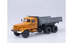 КрАЗ-256 Б1 самосвал, (оранжевыйсерый)