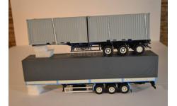 трёхосный полуприцепом МАЗ-9758 + полуприцеп -контейнеровоз  МАЗ-938920