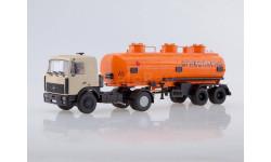 МАЗ-5432 (бежевый) с полуприцепом НЕФАЗ-96742