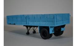Полуприцеп МАЗ-5215, голубой, масштабная модель, Автоистория (АИСТ), 1:43, 1/43