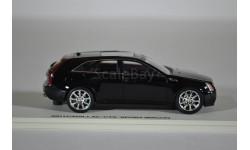 Cadillac CTS Sport Wagon 2011 Black Raven, масштабная модель, Luxury, scale43