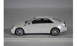 Cadillac CTS-V Sedan 2011 White Diamond