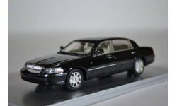 Lincoln Town Car 2012 Black, масштабная модель, Luxury, scale43