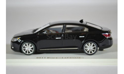 Buick Lacross 2011 Carbon Black Metallic, масштабная модель, Luxury, scale43