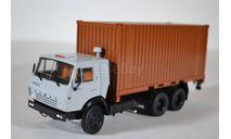 KAMAZ-53212 с 20-футовым контейнером, масштабная модель, ПАО КАМАЗ, scale43