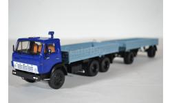 КАМАЗ-5320 с прицепом ГКБ-8350, масштабная модель, ПАО КАМАЗ, 1:43, 1/43