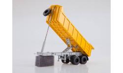 Самосвальный полуприцеп  МАЗ-9506-20, масштабная модель, 1:43, 1/43, Автоистория (АИСТ)