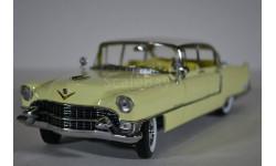 CADILLAC Fleetwood Series 60 1955 желтый с белой крышей